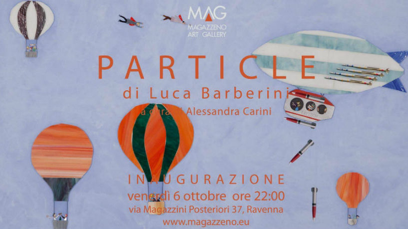 Mostra Particle - Luca Barberini