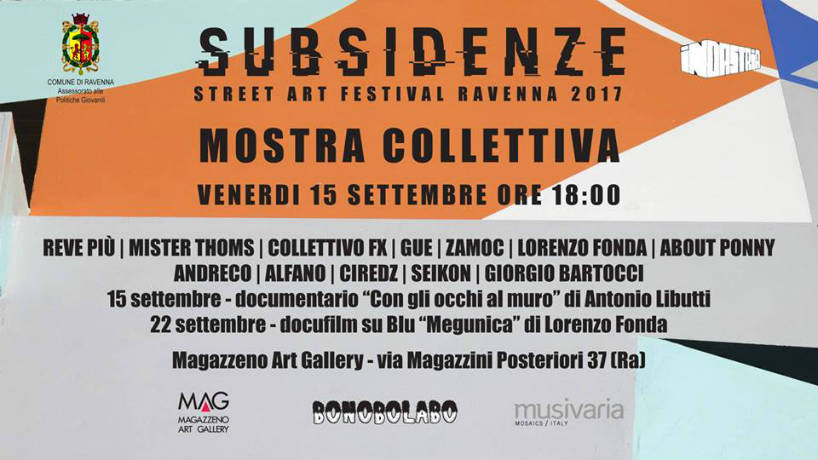 Subsidenze 2017 - Mostra